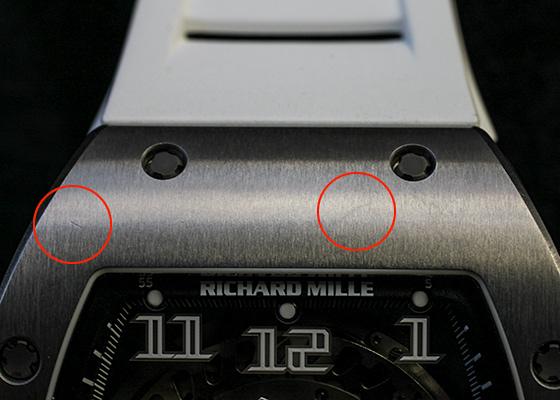【中古】リシャール ミル RM029 オートマティック オーバーサイズ デイト TI スケルトン文字盤 自動巻き ラバー