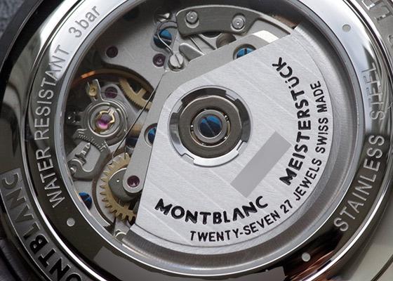 【未使用品】 モンブラン MB118515 スター レガシー オートマティック クロノグラフ SS グレー文字盤 自動巻き レザー