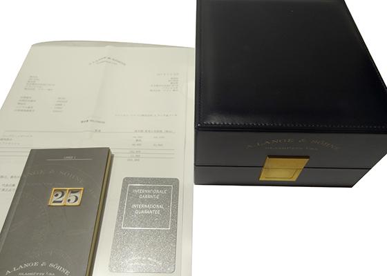 【中古】A.ランゲ&ゾーネ IW353602 GSTアクアタイマー SS 黒文字盤 自動巻き ブレスレット