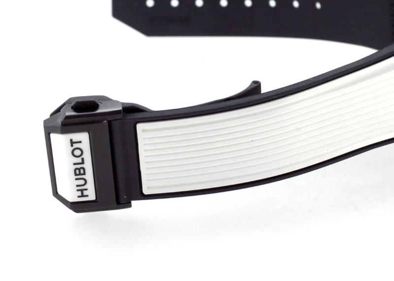ウブロ 441.HX.1170.RX ビッグバン ウニコ ホワイトセラミック 42mm CE スケルトン文字盤 自動巻き ラバー