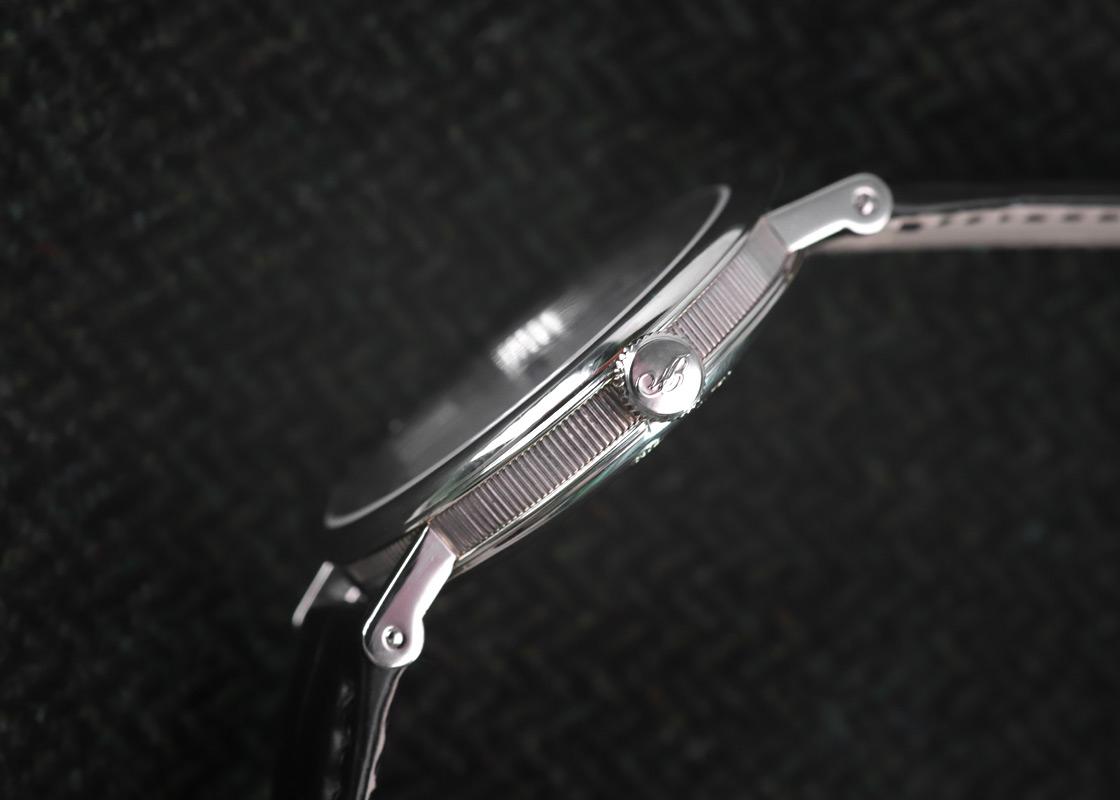 【中古】ブレゲ 5177BB/12/9V6 クラシック シリシオン WG シルバー文字盤 自動巻き レザー