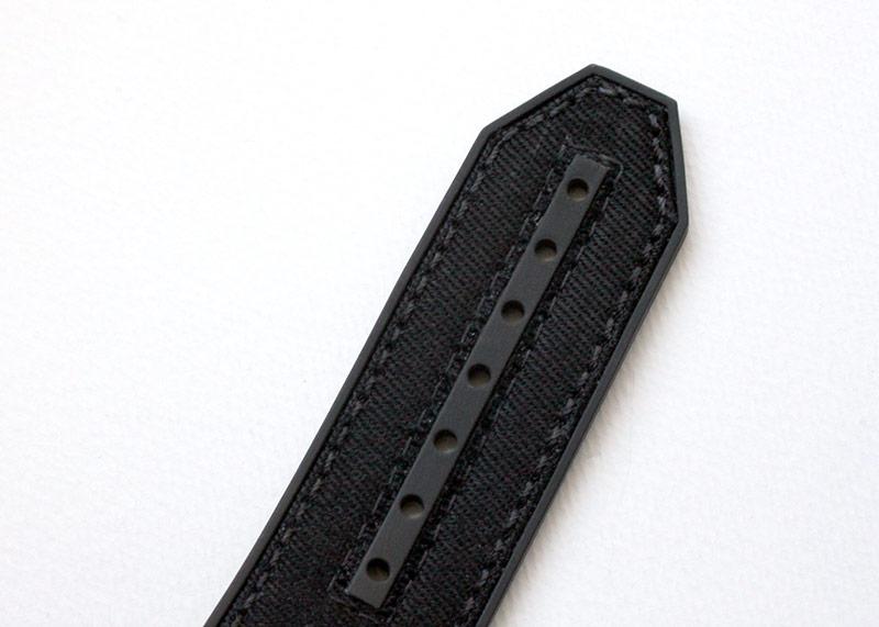 ウブロ 411.YT.1198.NR.ITI16 ビッグバン ウニコ イタリア インディペンデント ブラックカムフラージュ カーボン 黒文字盤 自動巻き ファブリック/ラバー