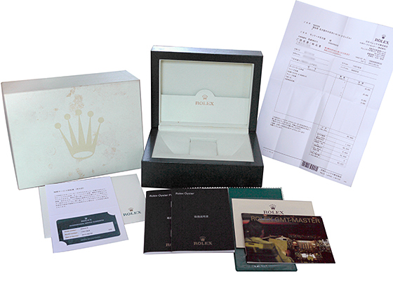 【中古】ロレックス 116718LN オイスター パーペチュアル GMTマスターII YG グリーン文字盤 自動巻き ブレスレット