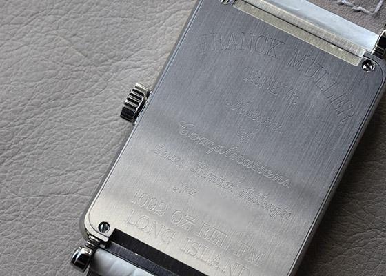 【150本限定】【中古】フランクミュラー 1002QZ REL FM  ロングアイランド レリーフ SS シルバー文字盤 クォーツ レザー