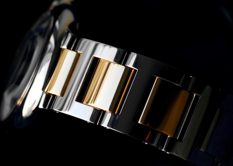 【お取り寄せ可能】カルティエ W2BB0012 バロン ブルー ドゥ カルティエ YG&SS シルバー文字盤 自動巻き ブレスレット