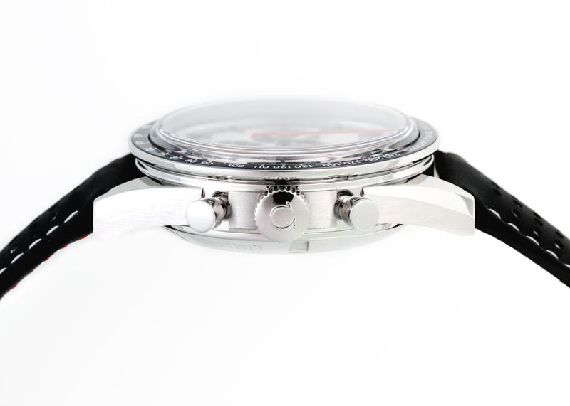 【中古】オメガ 311.32.40.30.02.001 スピードマスター CK2998 SS シルバー文字盤 手巻き レザー