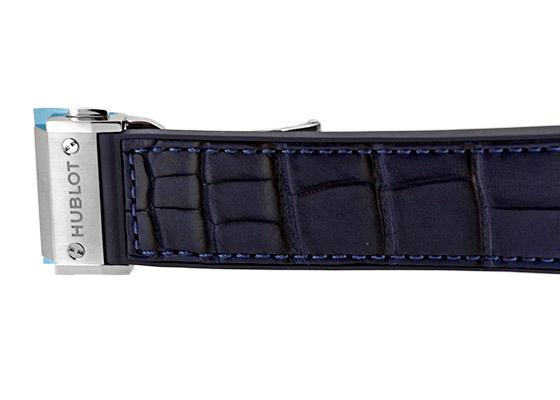 【近日入荷】ウブロ 541.NX.7170.LR クラシックフュージョン クロノグラフ ブルー チタニウム 42mm TI ブルー文字盤 自動巻き アリゲーター/ラバー