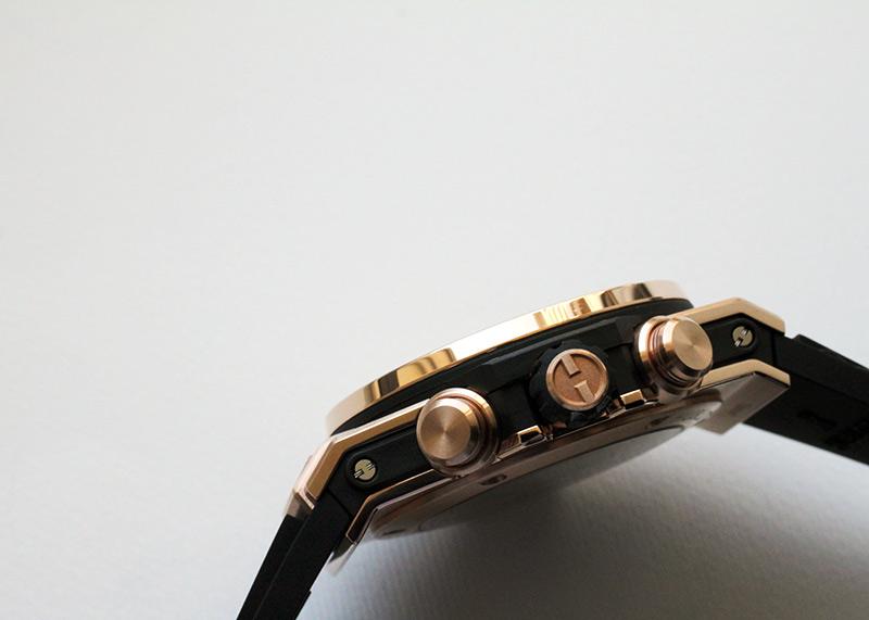 ウブロ 411.OX.1180.RX ビッグバン ウニコ キングゴールド RG スケルトン文字盤 自動巻き ラバー