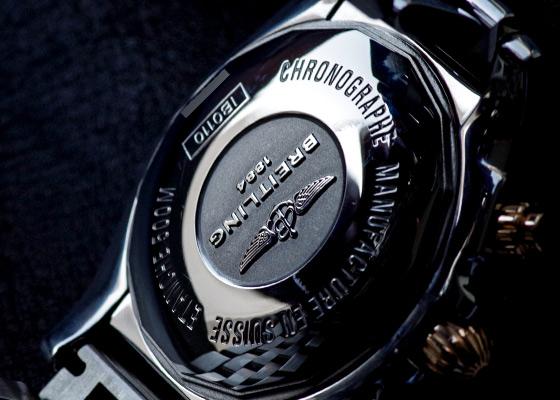 【人気モデル】【正規品】ブライトリング クロノマット44 ブラックローマ IB0110【中古】