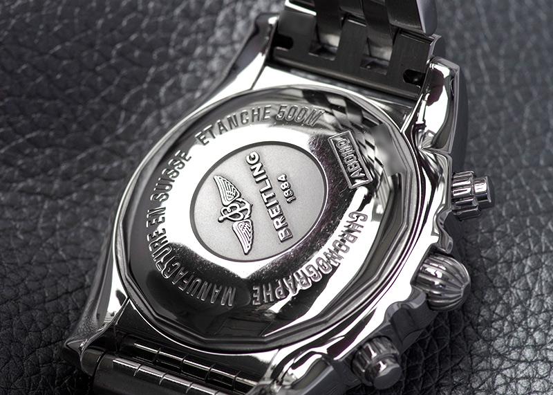 【中古】ブライトリング AB0110(AB011012/B956) クロノマット44 SS 黒文字盤 自動巻き ブレスレット