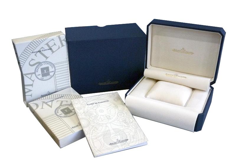 【中古】ジャガールクルト 140.8.87 マスターデイト SS シルバー文字盤 自動巻き ブレスレット