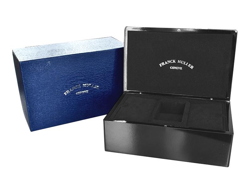 【中古】フランクミュラー 6000KSCDT RELIEF マスタースクエア キング SS シルバー文字盤 自動巻き レザー