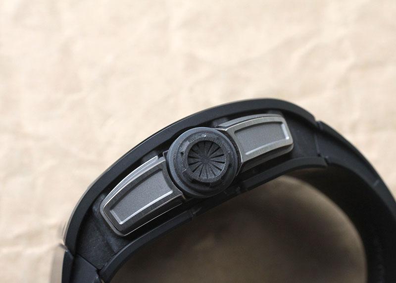 【中古】リシャールミル RM61-01 ヨハン・ブレイク グレーエディション 世界150本限定 TZPセラミック/カーボン スケルトン文字盤 手巻き ラバー