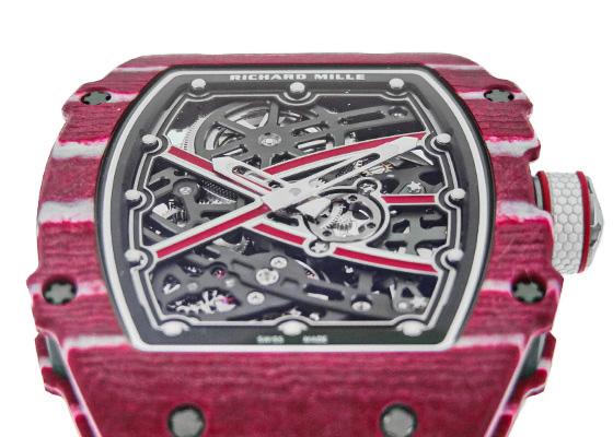 リシャールミル RM67-02 オートマティック ムタズ・エサ・バルシム ハイジャンプ クォーツTPT/カーボンTPT スケルトン文字盤 自動巻き エラティック