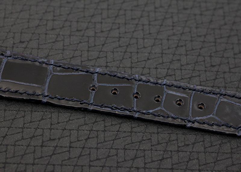 【中古】パテックフィリップ 5130P-001 ワールドタイム PT シルバー/ブルー文字盤 自動巻き レザー