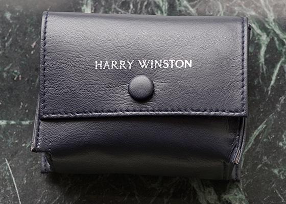 【中古】ハリーウィンストン 200/UCQ32W レディース プルミエール クロノグラフ WG シェル文字盤 クォーツ ブレスレット