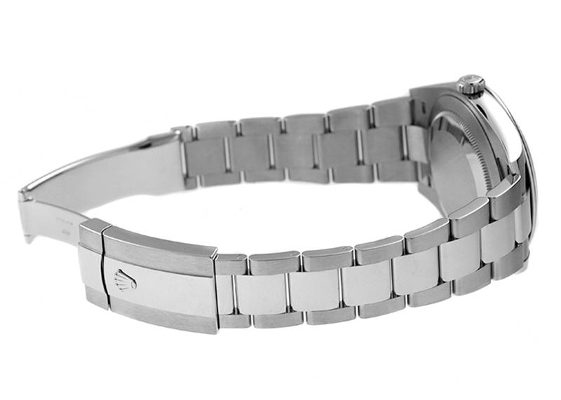 【未使用品】ロレックス126300 オイスターパーペチュアル デイトジャスト 41 SS 黒文字盤 自動巻き ブレスレット