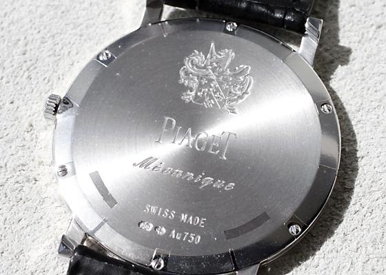 ピアジェ G0A39111 アルティプラノ 18KWG スケルトン文字盤 手巻き レザー