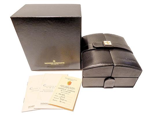 【中古】ヴァシュロンコンスタンタン 81000/000J マルタ グランクラシック YG シルバー文字盤 手巻き レザー