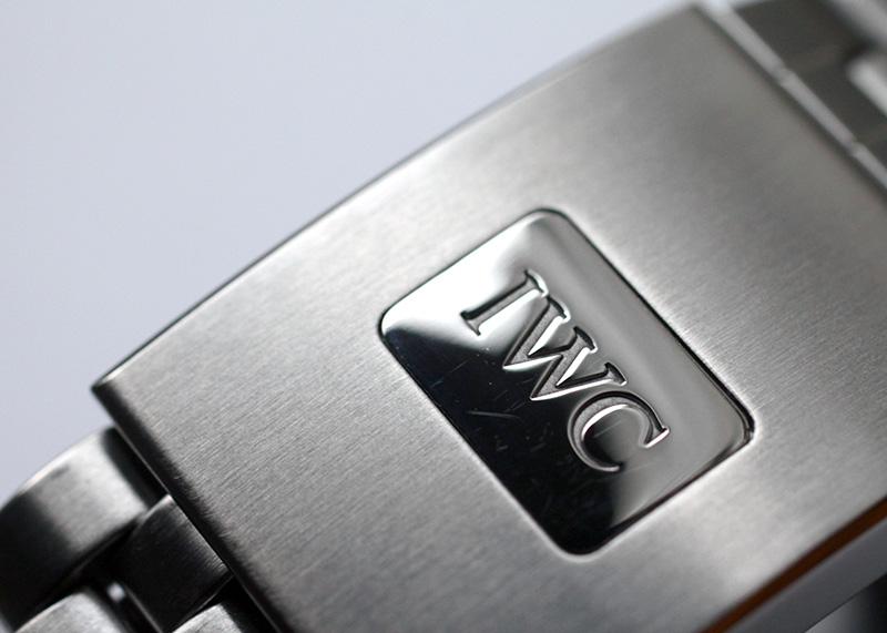 【中古】IWC IW327011 パイロットウォッチ マーク18 SS 黒文字盤 自動巻き ブレスレット