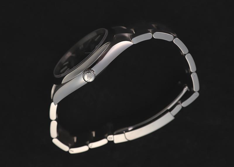 【未使用品】ロレックス124300 オイスターパーペチュアル 41 SS 黒文字盤 自動巻き ブレスレット