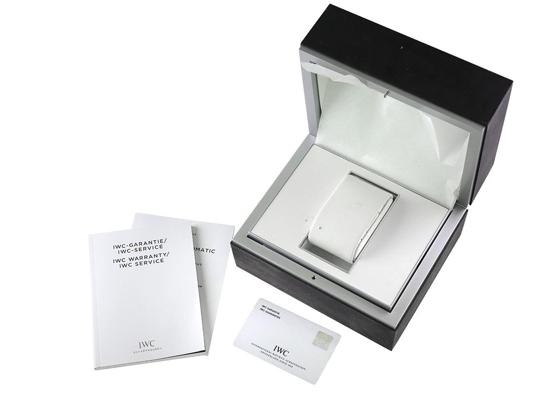 【中古】IWC IW323904 インヂュニア SS 白文字盤 自動巻き ブレスレット