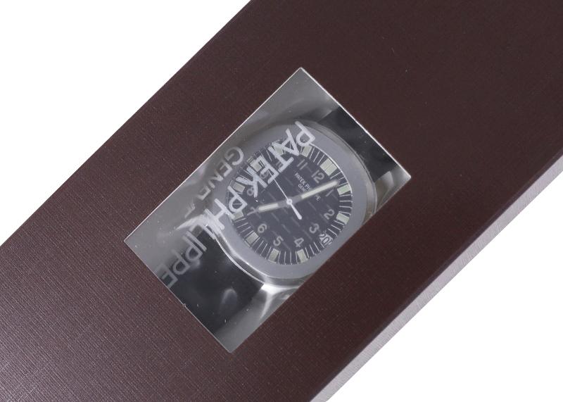 【レストア】パテックフィリップ 5065A-001 アクアノート SS 黒文字盤 自動巻き ラバー【1999年製】