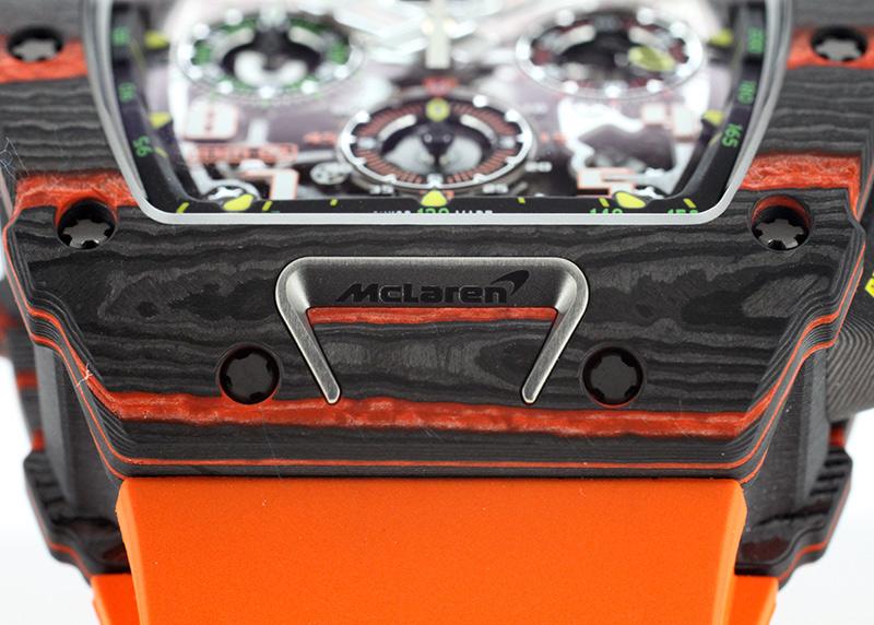リシャールミル RM11-03 MCL オートマティック フライバック クロノグラフ マクラーレン カーボンTPT スケルトン文字盤 自動巻き ラバー