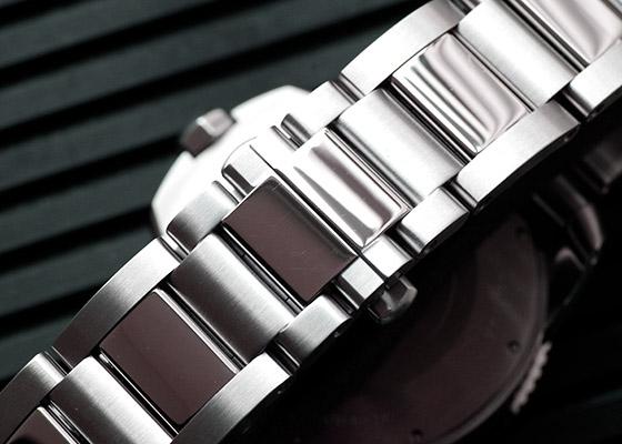 【中古】カルティエ W7100057 カリブルドゥカルティエ ダイバー SS 黒文字盤 自動巻き ブレスレット