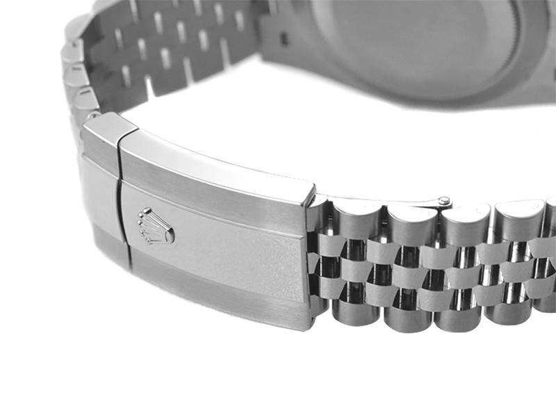 【未使用品】ロレックス126300 オイスターパーペチュアル デイトジャスト 41 SS グレー文字盤 自動巻き ブレスレット