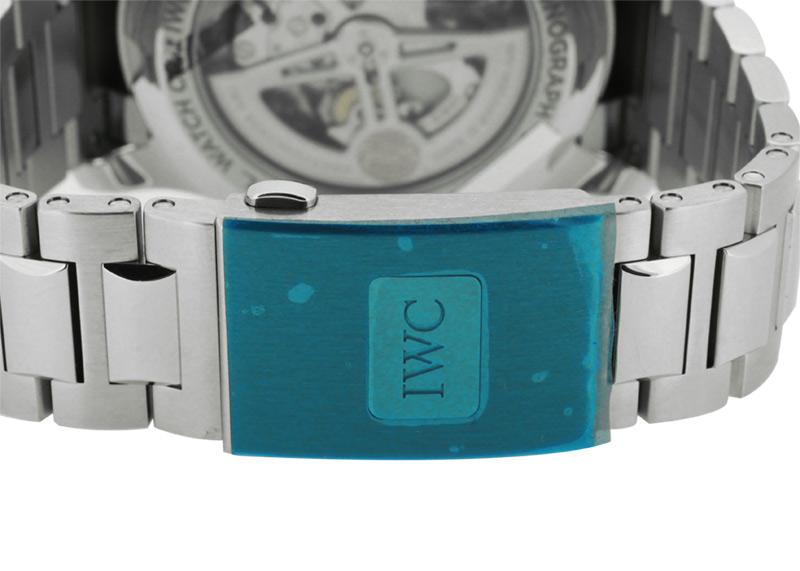 【未使用品】IWC IW390701 ポルトギーゼ ヨットクラブ クロノグラフ SS ブルー文字盤 自動巻き ブレスレット【2020年新作】