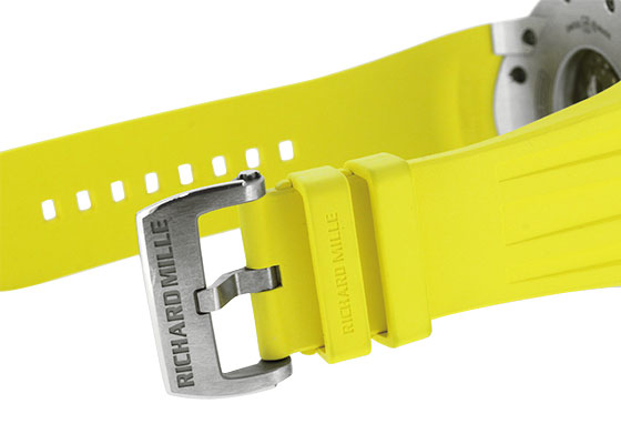【中古】リシャールミル RM032 オートマティック クロノグラフ ダイバー TI スケルトン文字盤 自動巻き ラバー