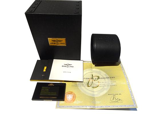 【中古】ブライトリング AB011012/BD89 クロノマット44 ローマンエディション SS 黒文字盤 自動巻き ブレスレット