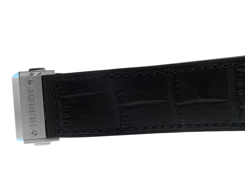 【未使用品】ウブロ 511.NX.1171.LR クラシックフュージョン チタニウム TI 黒文字盤 自動巻き ラバー/アリゲーター