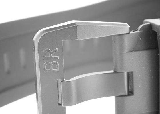 【未使用品】ベル&ロス BR01-93 GMT 24H PVD 黒文字盤 自動巻き ラバー