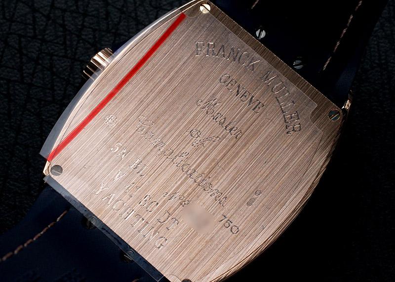 フランクミュラー V41SCDT YACHTING ヴァンガード デイト ヨッティング PG ブルー文字盤 自動巻き ファブリック/ラバー