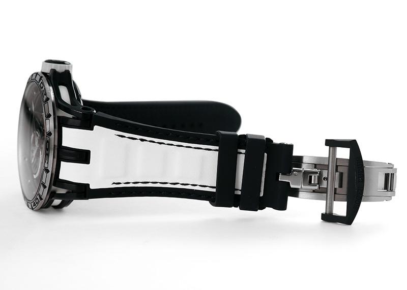 【中古】ロジェデュブイ DBEX0715(RDDBEX0715) エクスカリバー スパイダー 45 TI スケルトン文字盤 手巻き ラバー/カーフ