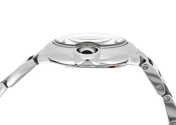 カルティエ WE902073 レディース バロンブルー SM SS シルバー文字盤/11Pダイヤモンド クォーツ ブレスレット