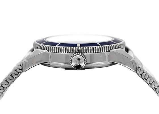 【未使用品】ブライトリング A170C32OCA スーパーオーシャン ヘリテージ42 SS ブルー文字盤 自動巻き ブレスレット