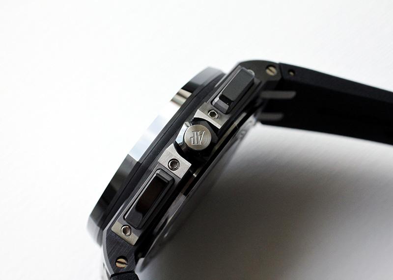 【中古】オーデマピゲ 26405CE.OO.A002CA.02 ロイヤルオーク オフショアクロノグラフ CE ブラック文字盤 自動巻き ラバー