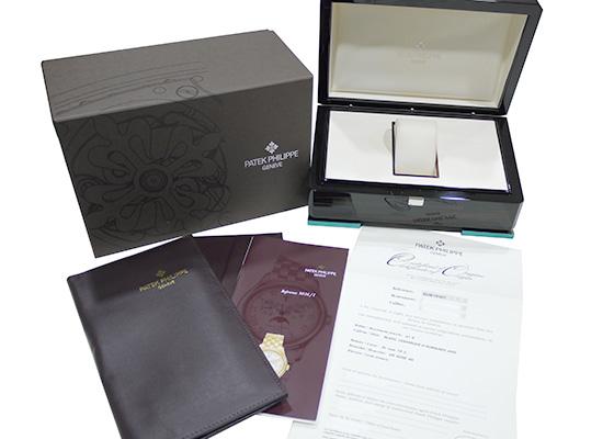 【未使用品】パテックフィリップ 5036R-001 アニュアルカレンダー RG シルバー文字盤 ブレスレット