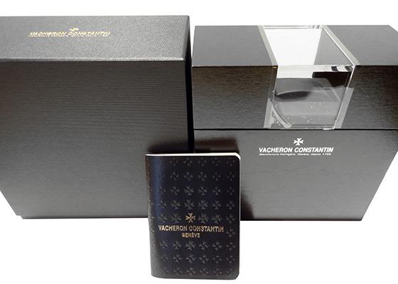 【中古】ヴァシュロンコンスタンタン 86060/000R-9640 トラディショナル・ワールドタイム PG 白文字盤 自動巻き レザー