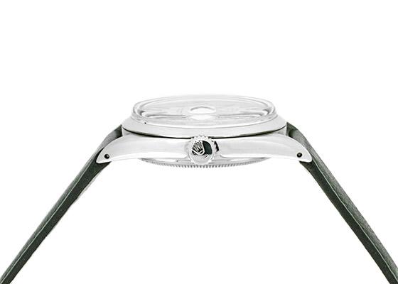 【ヴィンテージ】【1967年製】ロレックス 1600 オイスターパーペチュアル デイトジャスト SS シルバー文字盤 自動巻き レザー