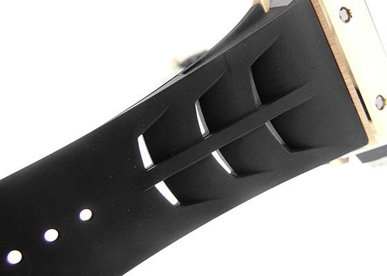リシャールミル RM11-03 オートマティック フライバック クロノグラフ RG/TI スケルトン文字盤 自動巻き ラバー