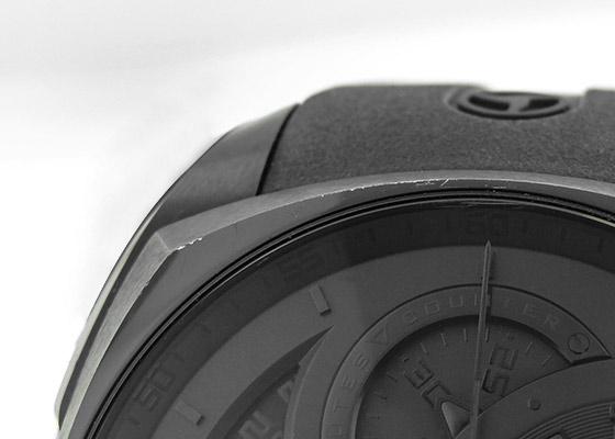 【中古】サイラス 539.501.DD.A クレプシス クロノグラフ DLC 黒文字盤 自動巻き ラバー