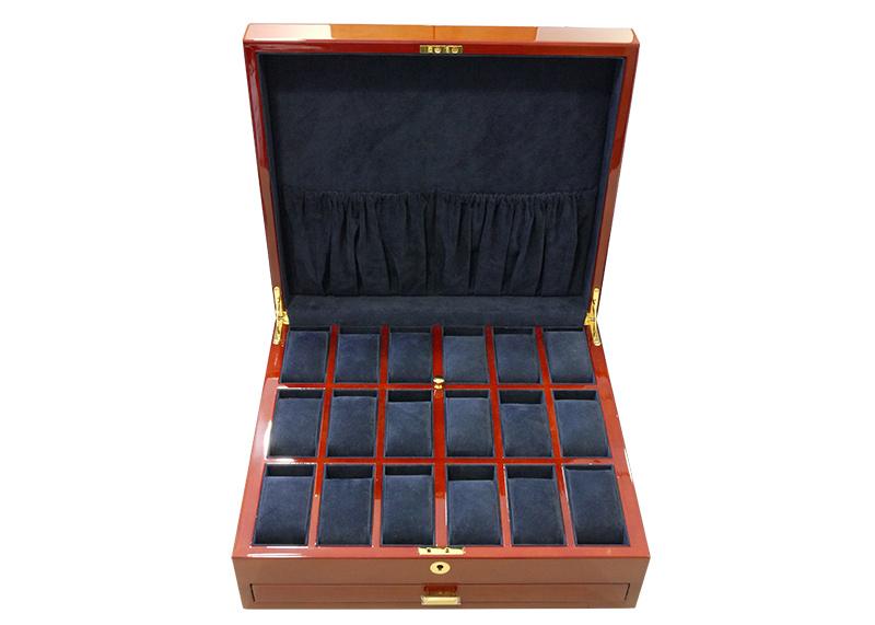 ブーベン&ゾルウェッグ ガバナー コレクションボックス 24本収納 ウッド