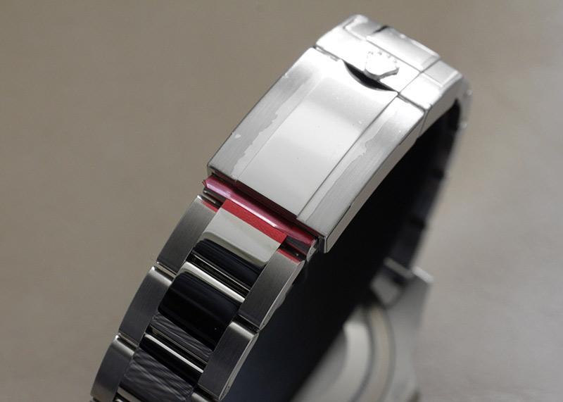 【生産終了】ロレックス 116710LN GMTマスターII SS 黒文字盤 自動巻き ブレスレット【保護シール付】