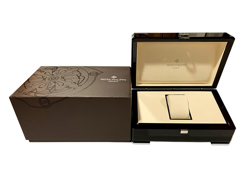 【レストア】パテックフィリップ 5119J-001 カラトラバ YG 白文字盤 手巻き レザー【2007年製】