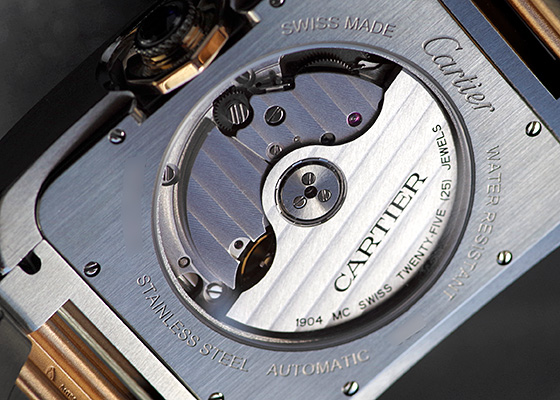 カルティエ W5310006 タンク アングレーズ XL PG&SS シルバー文字盤 自動巻き ブレスレット