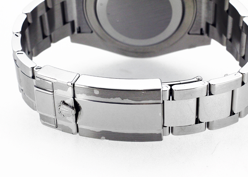 【未使用品】ロレックス 116710LN GMTマスターII SS 黒文字盤 自動巻き ブレスレット【保護シール付】